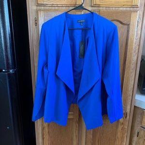 NWT Lane Bryant Blue Blazer Size 28